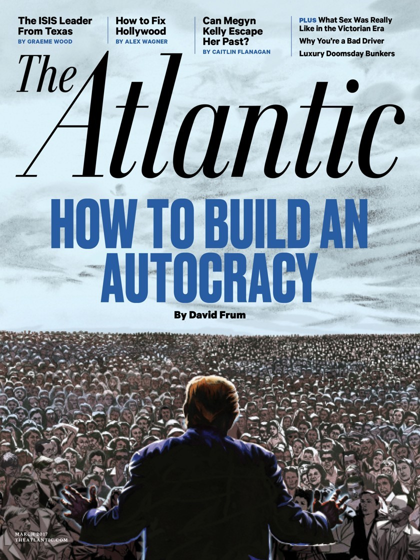 cover for How to Build an Autocracy by David Frum