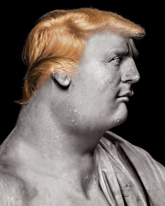 cover for Our Caesar: Can the country come back from Trump? The Republic already looks like Rome in ruins by Andrew Sullivan